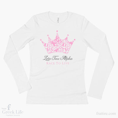 ZTA Race to Live Long Sleeve T-Shirt