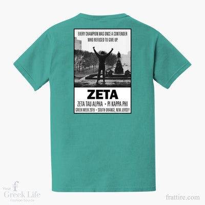 Zeta Tau Alpha SHU Greek Week Shirts
