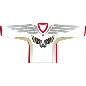 Philadelphia Wings WHITE Blank Replica Jersey