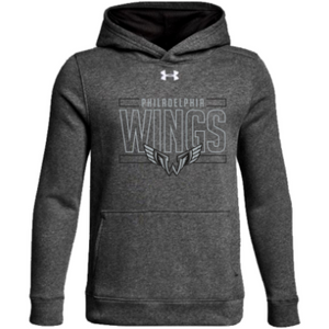 Youth UA Hustle Fleece Hoody