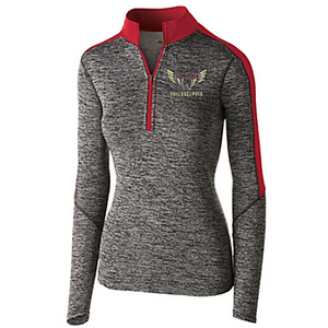 Holloway Womens Electrify Half Zip Pullover - Zip