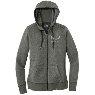 New Era French Terry Womens Full Zip Hoodie - Sweatshirt