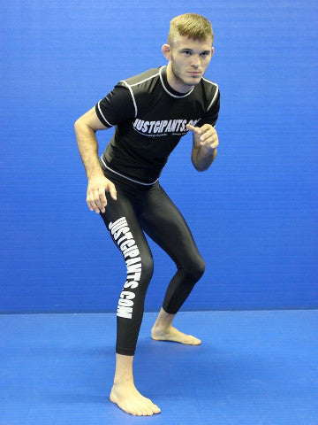 Grappling Tights - Black
