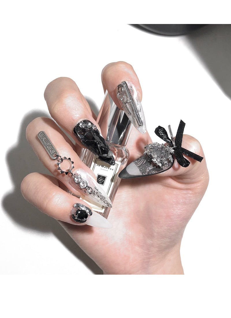 Stiletto Press-On Nails FN036