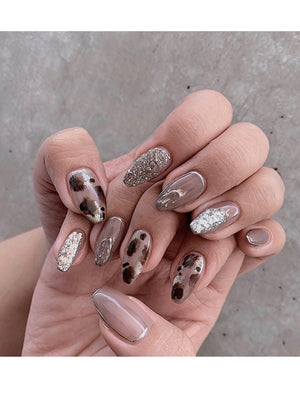 Coffin Press-On Nails FN041