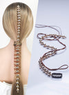Gold Beads Strand Clip-on Hair Accessories HD001