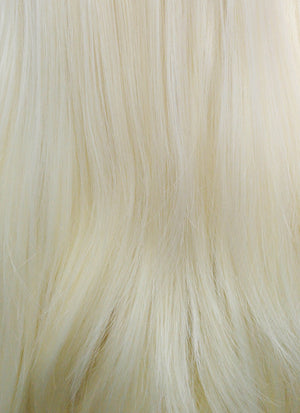 Straight Light Blonde Lace Front Synthetic Wig LF010 - Wig Is Fashion Australia