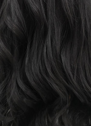 Wavy Black Lace Front Synthetic Wig LF110 - Wig Is Fashion Australia