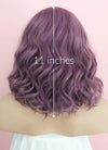 Purple Wavy Bob Lace Front Synthetic Wig LF1735 - Wig Is Fashion Australia