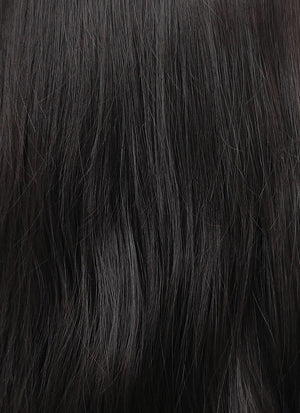 Black Wavy Lace Front Synthetic Wig LF1770