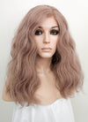 Pastel Pale Plum Wavy Lace Front Synthetic Wig LF3119 - Wig Is Fashion Australia