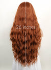 Light Auburn Wavy Lace Front Synthetic Wig LF3120 - Wig Is Fashion Australia