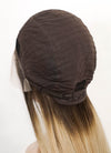Brown Blonde Ombre Straight Lace Front Synthetic Wig LF3168
