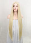 Light Blonde Straight Lace Front Synthetic Wig LF3199