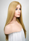 Straight Medium Blonde Lace Front Synthetic Wig LF331 - Wig Is Fashion Australia