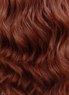 Auburn Wavy Bob Lace Front Synthetic Wig LF409 - Wig Is Fashion Australia
