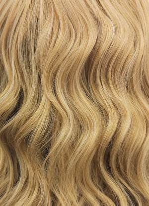 Blonde Wavy Bob Lace Front Synthetic Wig LF831C - Wig Is Fashion Australia