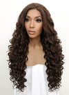 Brunette Spiral Curly Lace Front Synthetic Wig LFB169 - Wig Is Fashion Australia