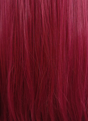 "Red Straight  13"" x 6"" Lace Front Synthetic Wig LFS003 - Wig Is Fashion Australia"