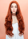 Auburn Wavy Lace Front Synthetic Wig LW735 - Wig Is Fashion Australia