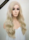 Ash Blonde Mono Parted Glueless Lace Wig MP003 - Wig Is Fashion Australia