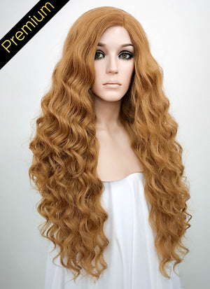 Golden Blonde Mono Parted Glueless Lace Wig MP004 - Wig Is Fashion Australia