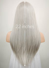 Grey Mono Parted Glueless Lace Wig MP008 - Wig Is Fashion Australia