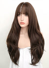 Brunette Wavy Synthetic Wig NS057 - Wig Is Fashion Australia