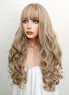 Ash Blonde Wavy Synthetic Wig NS061 - Wig Is Fashion Australia