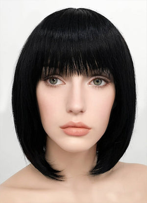 Black Straight Bob Synthetic Wig NW093 - Wig Is Fashion Australia