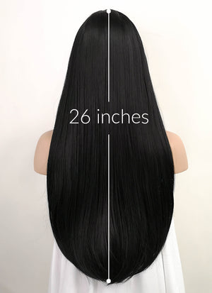 Straight Jet Black Synthetic Wig TBZ871 - Wig Is Fashion Australia