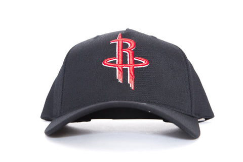 mitchell and ness houston rockets pinch front cap