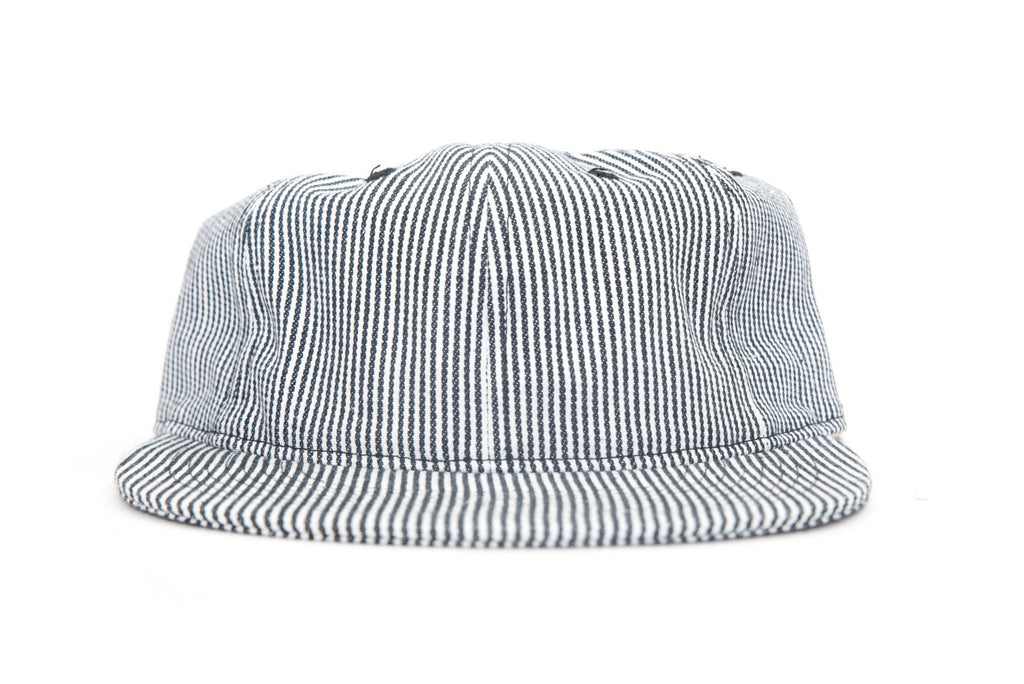 only ny hickory stripe polo hat