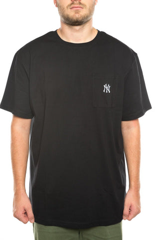 majestic new york yankees small logo pocket tee