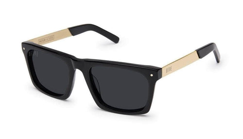 Black And 24k Gold / Polarised (+50) 9five watson lx 24k Gold sunglasses 9five glasses