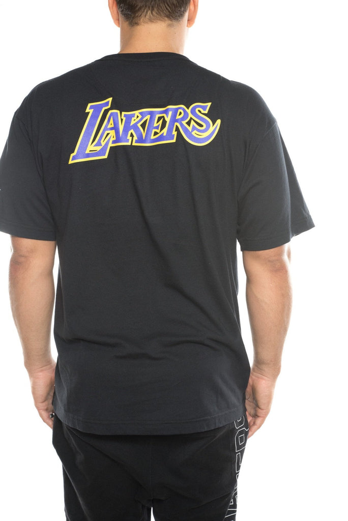 mitchell and ness los angeles lakers ballgame traditional tee
