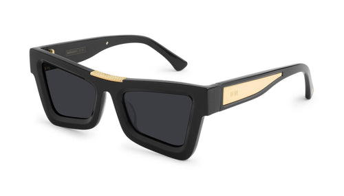 black / 24K gold / standard 9five marauder black and 24k 9five glasses