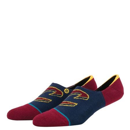 burgundy / M stance cavs invisible sock stance sock