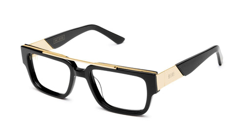 BLACK AND 24K GOLD / standard 9five 24 reader glasses 9five glasses