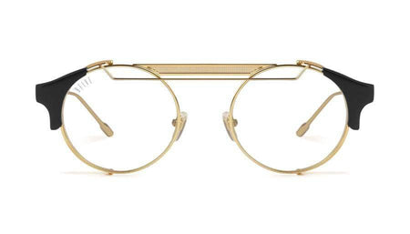black/24k/Gold 9five 88 black and 24k gold reader 9five glasses