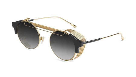 black/24k/Gold 9five 88 black and 24k gold sunglasses 9five glasses