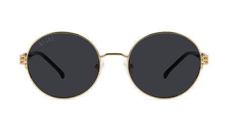 24K Gold / Black / Standard 9five iris 24k gold 9Five glasses