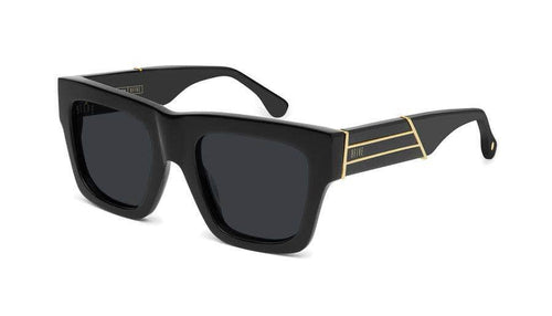 black/24kGold 9five lucy black and 24k gold sunglasses 9five glasses