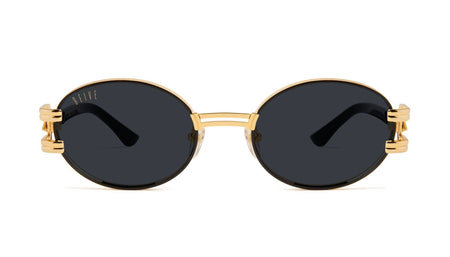 Black And 24k Gold / Standard 9five st james bolt 24k Gold sunglasses 9five glasses