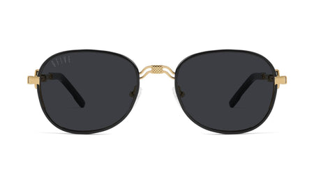 black / 24K gold / standard 9five st michael black and 24k 9five glasses