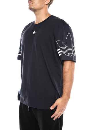 black / M adidas outline tee adidas Shirt