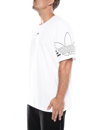 white / M adidas outline tee adidas Shirt