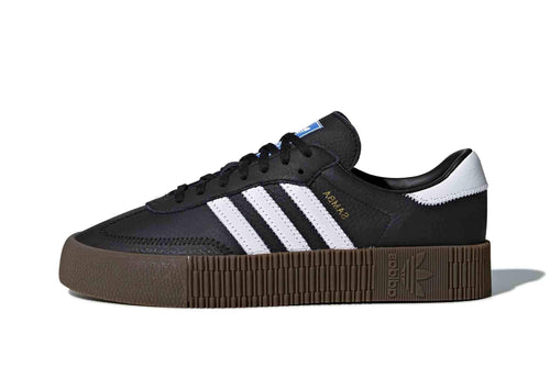 black/white/gum / US 6 adidas womens sambarose adidas 4059814926637 Shoe