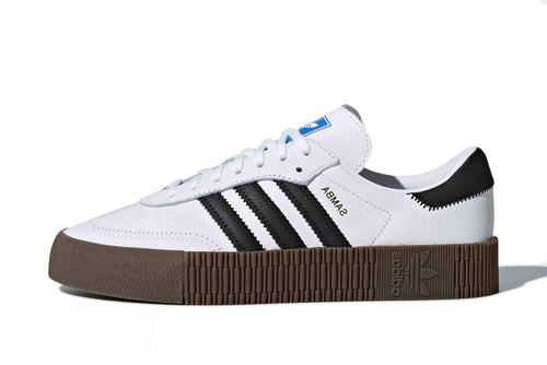 white/black/gum / US 6 adidas womens sambarose adidas 4059814922288 Shoe