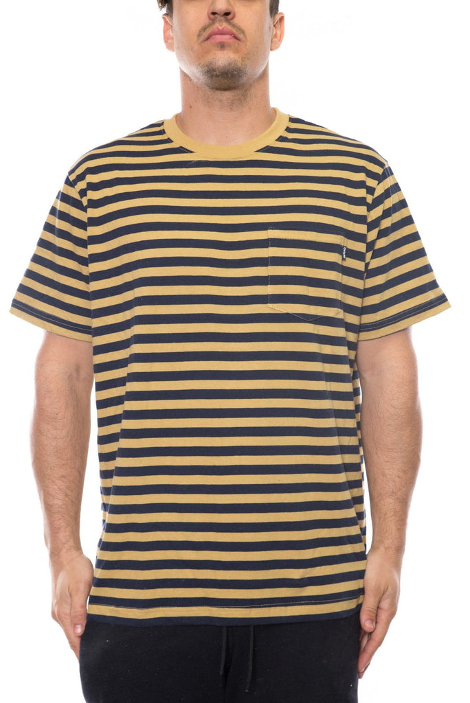 only ny nautical stripe pocket tee shirt